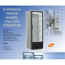 Exhibidora Gafa Led 420 Lts
