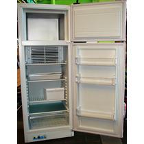 Heladera A Gas Con Freezer Dual Gas 220v 320 Litros Calidad