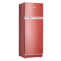Heladera Con Freezer Saiar Rs35 Rojo Teja 310 Litros Clase A