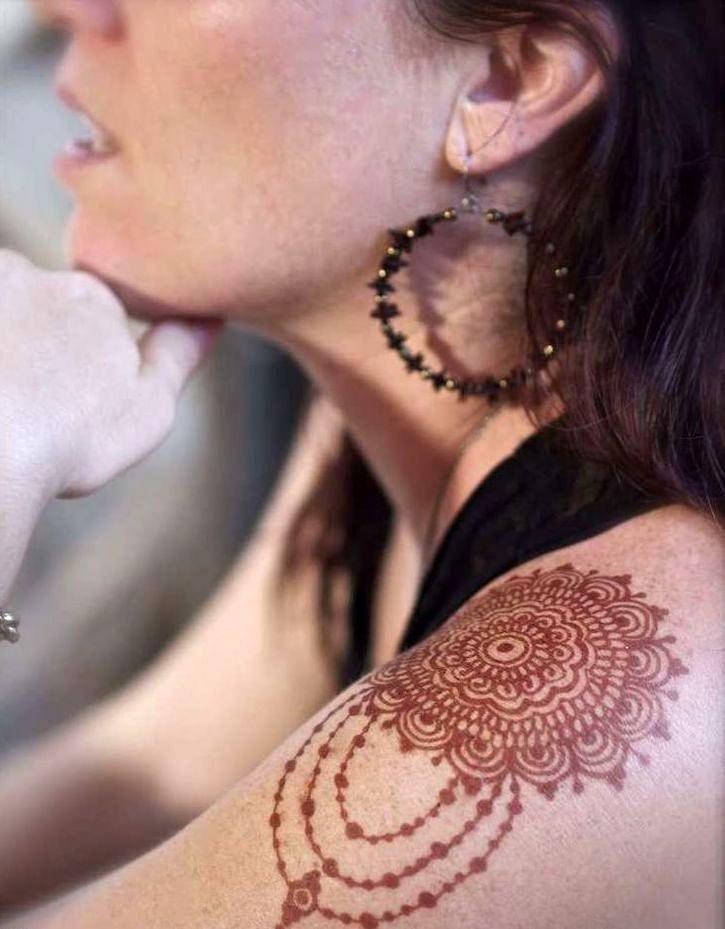 Henna En Pasta Para Tatuajes Temporales Importada De India - $ 160 ...