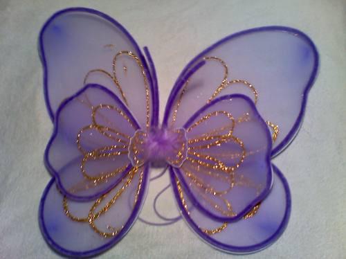 Como hacer alas de mariposa disfraz - Imagui