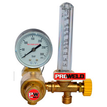 Regulador Caudalímetro - Flowmeter Para Argón / Atal / Co2