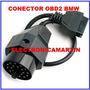 Adaptador Conector Obd2 Bmw Excelente Calidad
