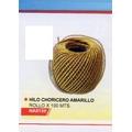 Hilo Choricero Amarillo Rollo X 100 Metros