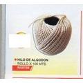 Hilo De Algodón Rollo X 100 Metros