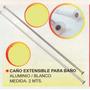 Caño Extensible Cortina Baño Aluminio Power Na5020
