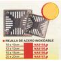 Rejilla De Acero Inoxidable 12x12cm Power Na8195