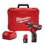Atornillador 12v Litio 2 Baterias 31nm Milwaukee 2406-259a