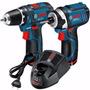 Atornillador Gsr 12-2-li + Llave Impacto Gdr 12-li Kit Bosch