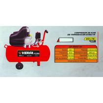 Compresor De Aire Versa Transmision Direct 50lts Gp-bm50-50#