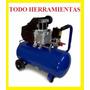 Compresor De Aire 25lts 2.5hp Portatil - Fligman