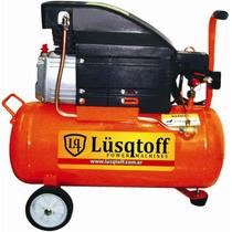 Compresor De Aire 25lts 2hp Lusqtoff - El Mas Potente!!