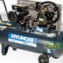 Compresor De Aire Hyac100 Hyundai 100lt A Correa 2 Cilindros