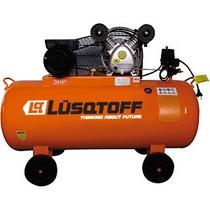 Compresor De Aire Mando Correa Bicilindrico 150l 3hp Lusqtof