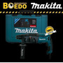 Rotomartillo Sds Plus - 780w 2.7j + Maletín - Hr2470 Makita