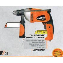 Taladro De Impacto Versa 910 Wats 13mm Kpid1955#