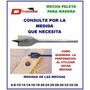 Mecha Paleta Para Madera N° 25 Dtools Zona Norte