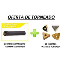 Portaherramientas Torneado Con Insertos - Oferta!