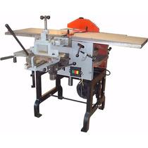 Maquina Combinada Carpintería 6 Operaciones 2hp Mesa 300mm