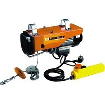 Aparejo Electrico Lusqtoff N1 150/300kgs. 6/12mts.
