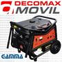 Generador Electrogeno Gamma 7500ve Arranque Electrico Ruedas