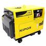 Grupo Electrógeno Kipor 6500t Diesel Insonor - Honda Quilmes