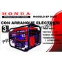 Grupo Electrógeno Honda Ep 9000 Arranque Eléctrico Efectivo