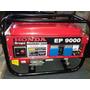 Generador Electrico Honda Ep 9000 Nafta Y Gas