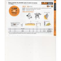 Herramientas Para Carpinteria Sierra Circular Cmt Industrial