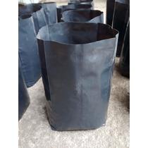 Bolsas Macetas De Nylon Para Plantas (100 Unid. De 4 L C/u)