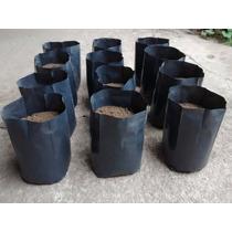 50 Bolsas De Cultivo De 6 Litros (macetas Plantines Plantas