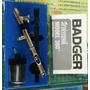 Aerografo Badger 360º Universal Succion O Gravedad +regalo!