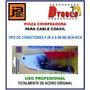 Pinza Crimpeadora Coaxil Compresión Rg6 Rg 59 Snap Dtools