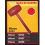 Maza De Madera 40mm Black Jack G085 #