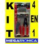 Kit Instalacion Cable Pinza -alicate-pela Cable- Fichas 4en1