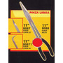 Pinza Larga 11 Punta Recta Black Jack B088#