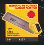 Serrucho Costilla Mango De Plastico 12pulg Black Jack C106#
