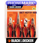 Set Herramientas Black & Decker Hdt51-905 4 Pinzas Garantia