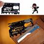 Tarjeta Wallet Ninja Multiuso Herramientas Portatil In Bloom