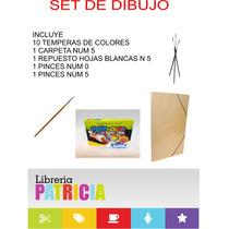Kit / Set Combo De Dibujo Economico