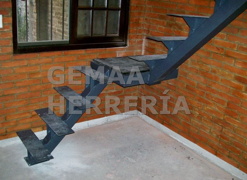 Herreria rejas portones frentes 100 00 en mercadolibre quotes for Escaleras de madera para pintor precios
