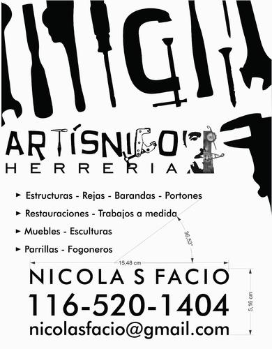 Herrero A Domicilio, Arte En Hierro Y Madera