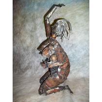 Escultura En Hierro Reciclado Madre Suplicando