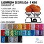 Lana Cashmilon Sedificada Semigrueso 3/5 X Kilo