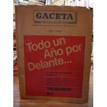 Gaceta De Los Espectaculos. Año 1968
