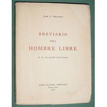 Libro Filosofia Breviario Hombre Libre Jose Berrutti 1956