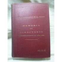 Obras Sanitarias De La Nación. Memoria... 1926