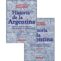 Historia De La Argentina,n.galasso,2 Tomos,nuevos-libros