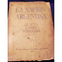 La Nacion Argentina Justa Libre Soberana 1950
