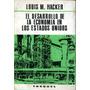 Lote De 2libros Sobre Desarrollo Económico De Ee. Uu. Hacker